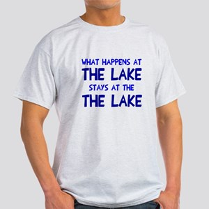 Happens at lake stays Light T-Shirt