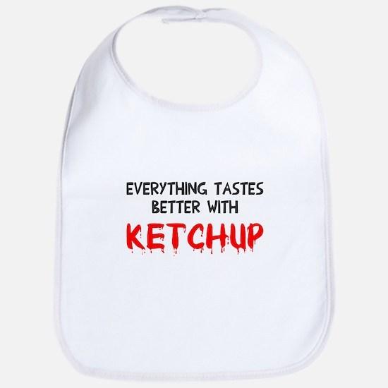 Everything better ketchup Bib