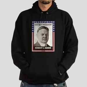 1928 Hoover - Our Next President Hoodie