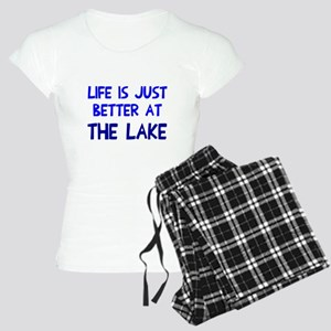 Life is just better lake Women's Light Pajamas