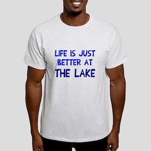 Life is just better lake Light T-Shirt