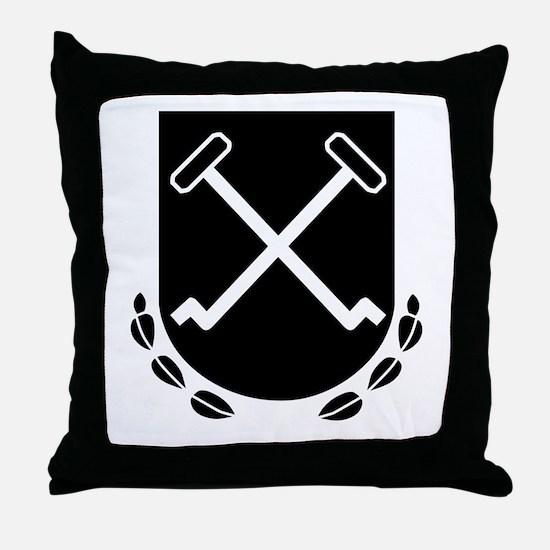 I SS Panzer Corps Throw Pillow