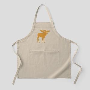 Brown Moose Apron