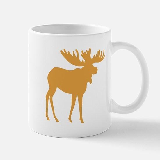 Brown Moose Mugs