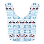 Merry Christmas pattern 2 Bib