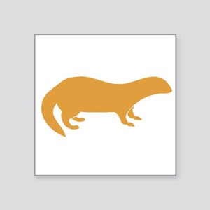Brown Mongoose Sticker