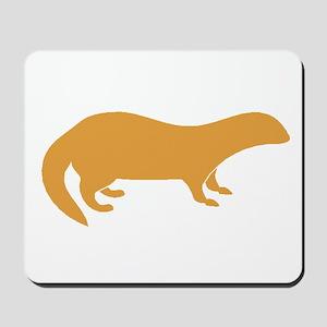 Brown Mongoose Mousepad