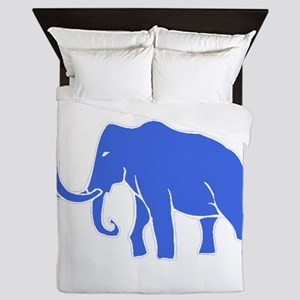 Blue Mammoth Queen Duvet