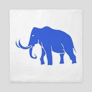 Blue Mammoth Queen Duvet