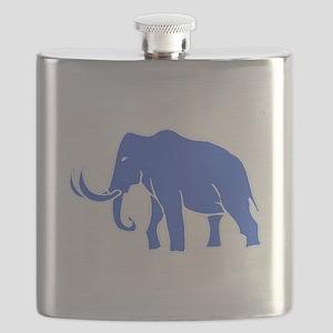 Blue Mammoth Flask