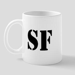SF White Mug