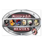 WooFPAK Heroes Emblem Postcards (Package of 8)