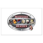 WooFPAK Heroes Emblem Posters