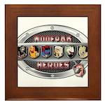 WooFPAK Heroes Emblem Framed Tile