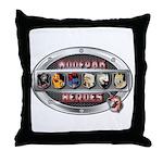 WooFPAK Heroes Emblem Throw Pillow