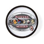 WooFPAK Heroes Emblem Wall Clock