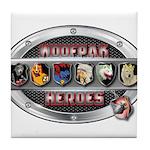 WooFPAK Heroes Emblem Tile Coaster