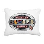 WooFPAK Heroes Emblem Rectangular Canvas Pillow