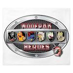 WooFPAK Heroes Emblem King Duvet