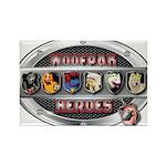 WooFPAK Heroes Emblem Magnets
