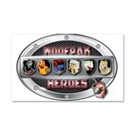 WooFPAK Heroes Emblem Car Magnet 20 x 12