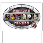 WooFPAK Heroes Emblem Yard Sign