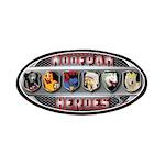 WooFPAK Heroes Emblem Patches