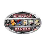 WooFPAK Heroes Emblem Wall Decal