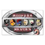 WooFPAK Heroes Emblem Sticker