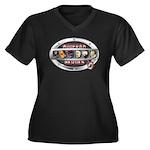 WooFPAK Heroes Emblem Plus Size T-Shirt