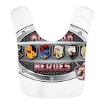 WooFPAK Heroes Emblem Bib