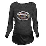 WooFPAK Heroes Emblem Long Sleeve Maternity T-Shir