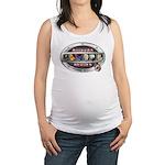 WooFPAK Heroes Emblem Maternity Tank Top