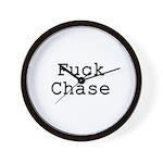 Fuck Chase Wall Clock