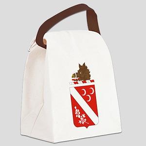 7th Field Artillery Canvas Lunch Bag