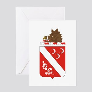 7th Field Artillery Greeting Cards