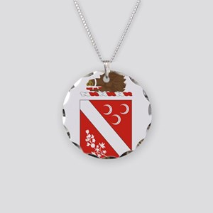7th Field Artillery Necklace Circle Charm