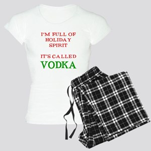 Holiday Spirit Vodka Women's Light Pajamas