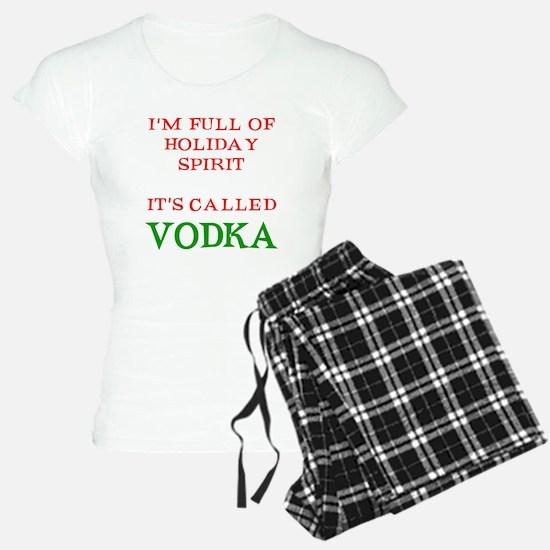 Holiday Spirit Vodka Pajamas