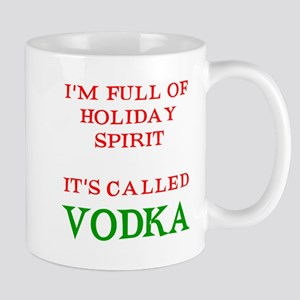 Holiday Spirit Vodka Mug