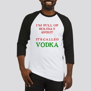 Holiday Spirit Vodka Baseball Jersey