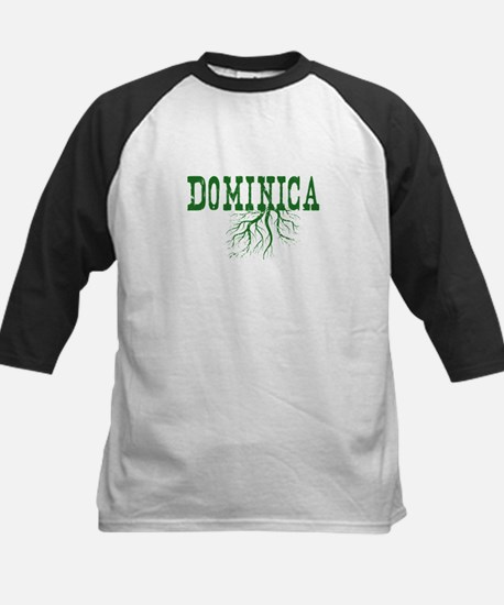 Dominica Roots Kids Baseball Jersey