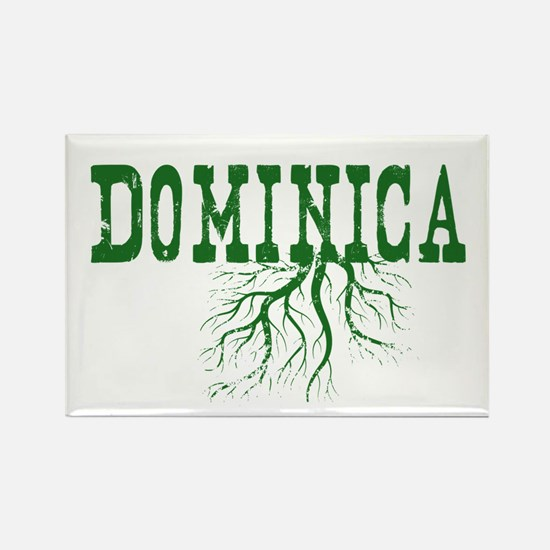 Dominica Roots Rectangle Magnet