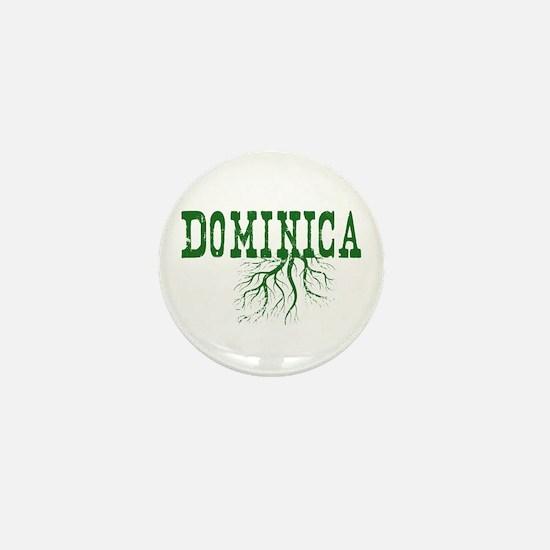 Dominica Roots Mini Button