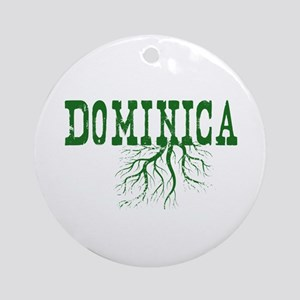 Dominica Roots Ornament (Round)