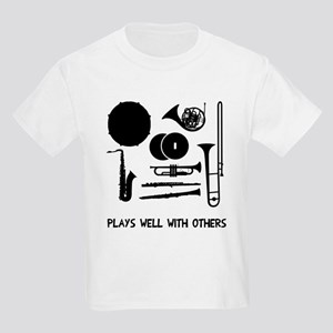 Band plays well with others Kids Light T-Shirt