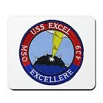 USS EXCEL Mousepad