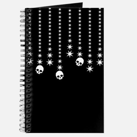 Skull Dangles Gothic Holiday Journal