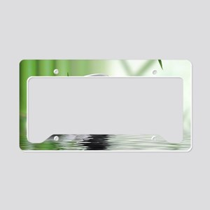 Zen Reflection License Plate Holder