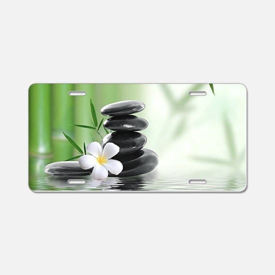 Zen Reflection Aluminum License Plate